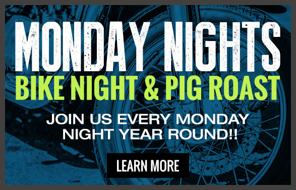 Monday's bike night